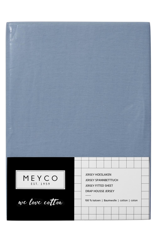 Jersey Hoeslaken - Jeans - 40x80/90cm