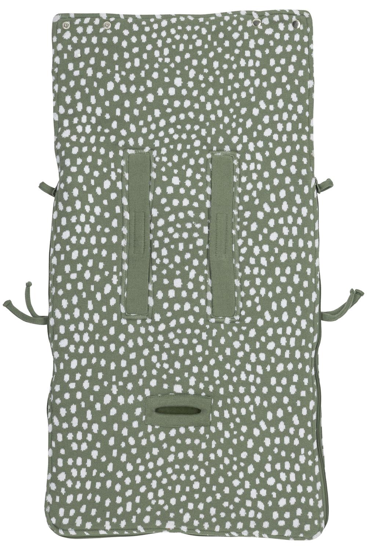 Voetenzak Cheetah - Forest Green - 40x82cm