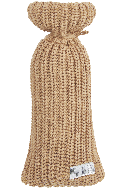 Wärmflaschenbezug Herringbone - Warm Sand - 13xh35cm