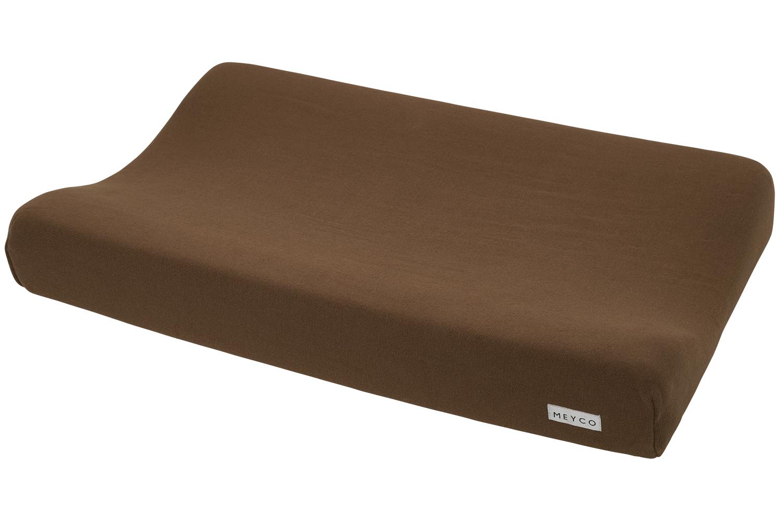 Wickelauflagenbezug Knit Basic - Chocolate - 50x70cm