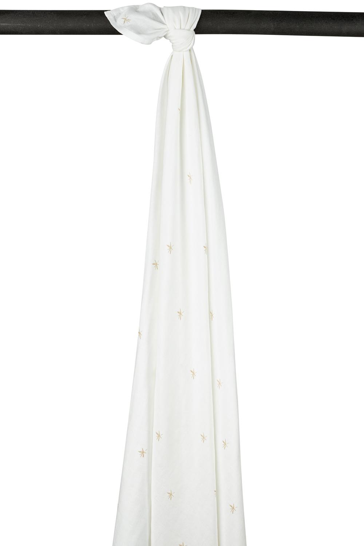 Meyco X Mrs. Keizer Bambus Wickeltuch Ibiza - Warm Sand - 120x120 cm
