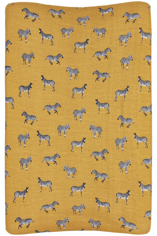 Aankleedkussenhoes Zebra Animal - Honey Gold - 50x70cm