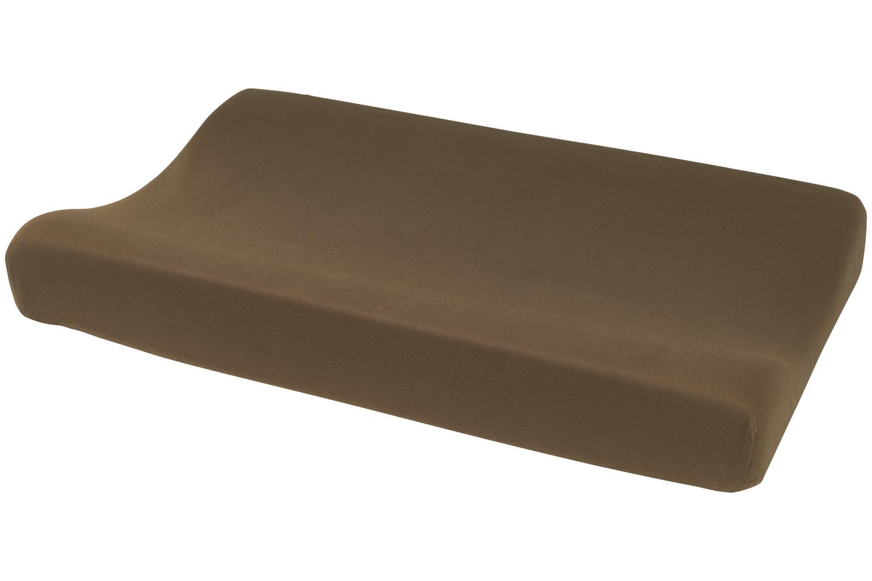 Wickelauflagenbezug Basic Jersey - Chocolate - 50x70cm