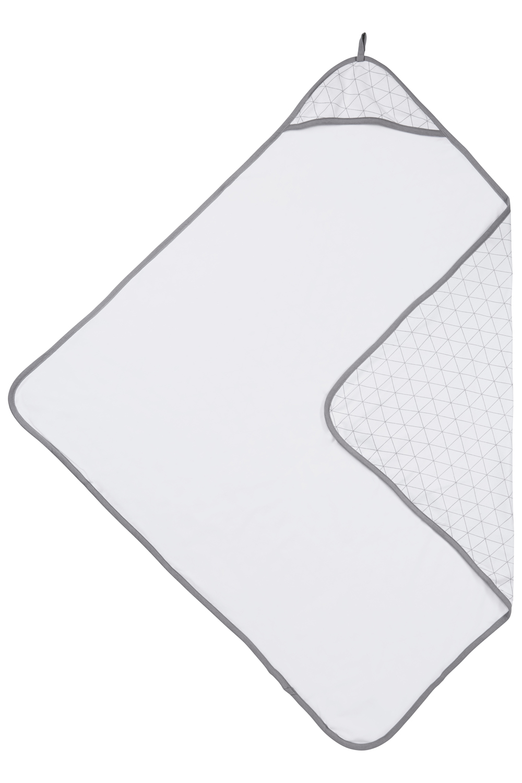 Badcape Triangle - Grijs - 90x90 cm