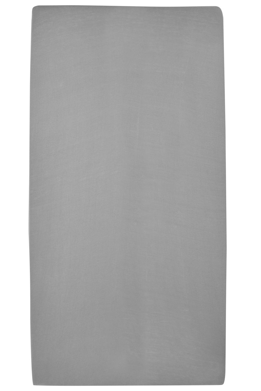 Jersey Hoeslaken - Grijs - 70x140/150cm