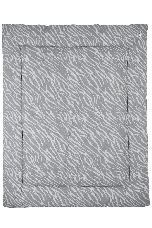 Laufgittereinlage Zebra - Grau - 80x100cm