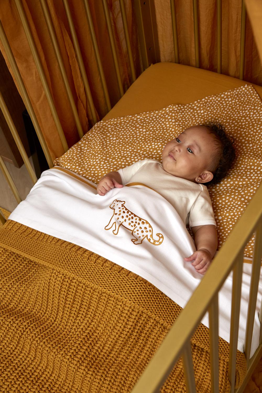 Ledikantdeken Herringbone - Honey Gold - 100x150cm