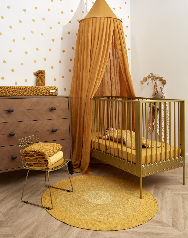 Jersey Hoeslaken - Honey Gold - 40x80/90cm