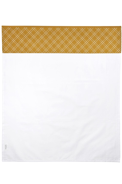 Wieglaken Double Diamond - Honey Gold - 75x100cm