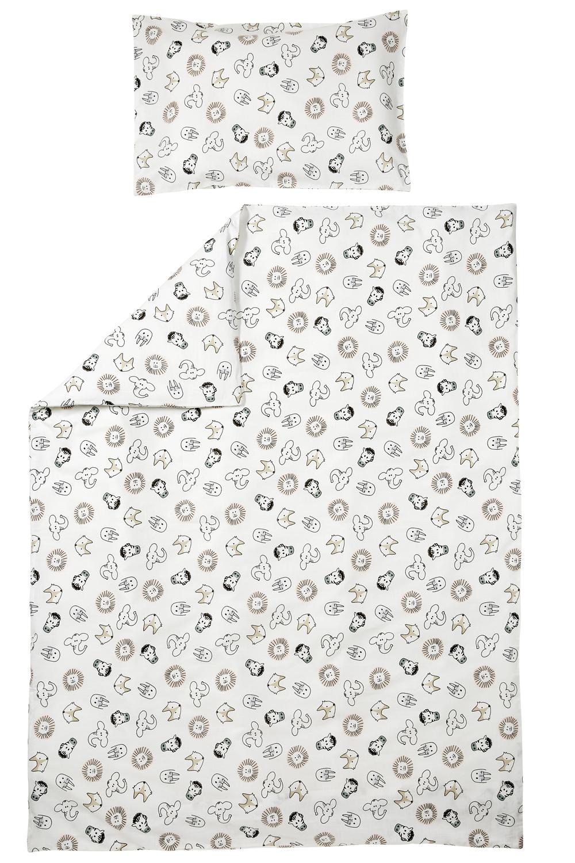 Bettdeckenbezug + Kissenbezug Animal - 120x150cm