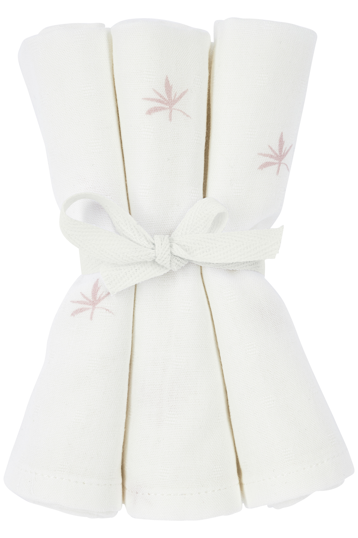 Meyco X Mrs. Keizer 3-pack Bamboe Washandjes Ibiza - Lilac - 20x17 cm