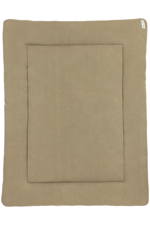 Laufgittereinlage Knit Basic - Taupe - 77x97cm