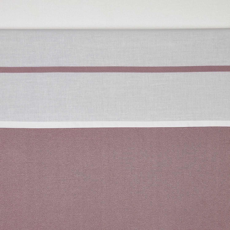 Bettlaken klein Bies - Lilac - 75x100cm