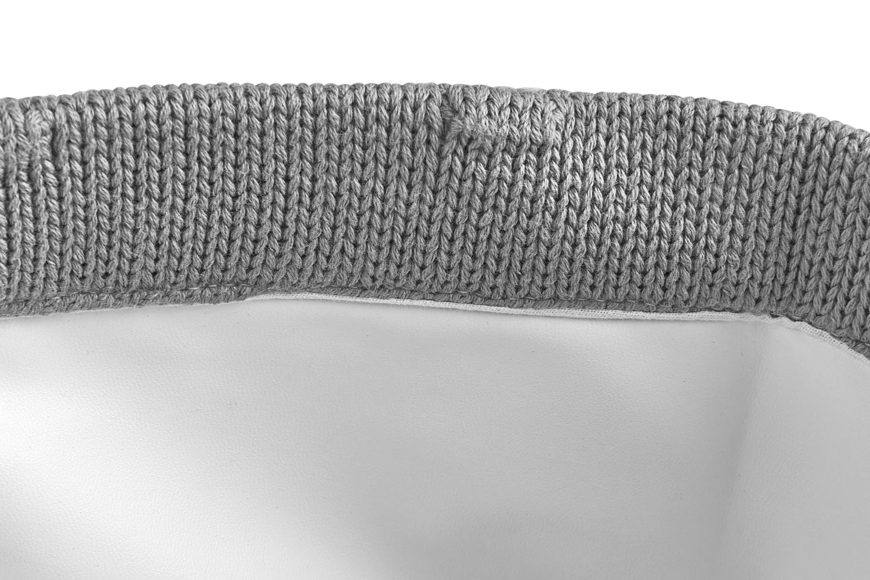 Commodemand Small Knots - Grijs