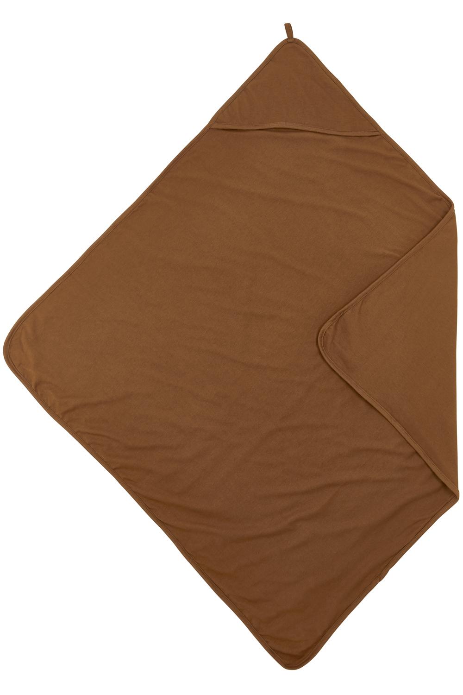 Badcape Basic Jersey - Camel - 80x80cm