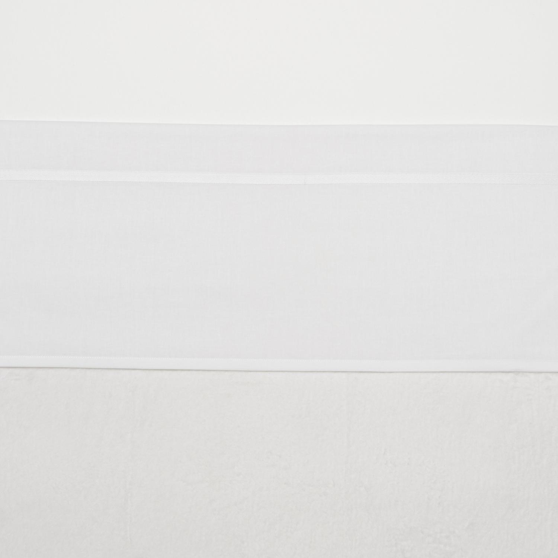 Wieglaken Bies - Wit - 75x100cm