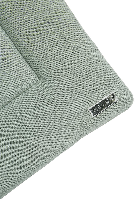 Boxkleed Knit Basic - Stone Green - 77x97cm