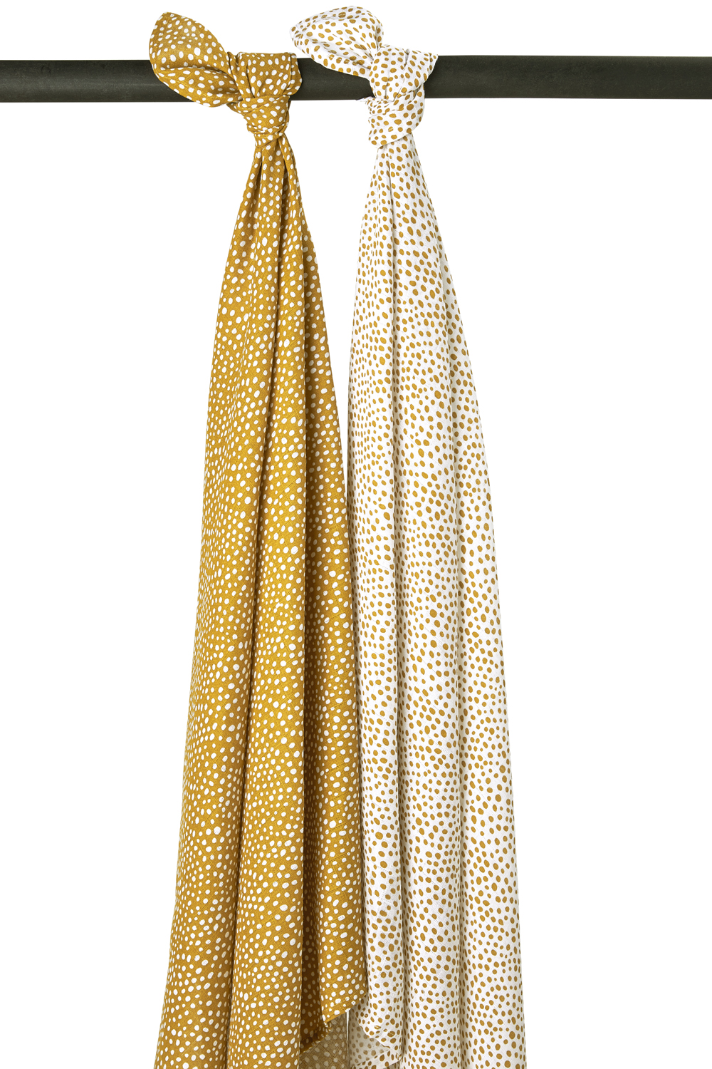 Hydrofiele Swaddles 2-Pack Cheetah - Honey Gold - 120x120cm