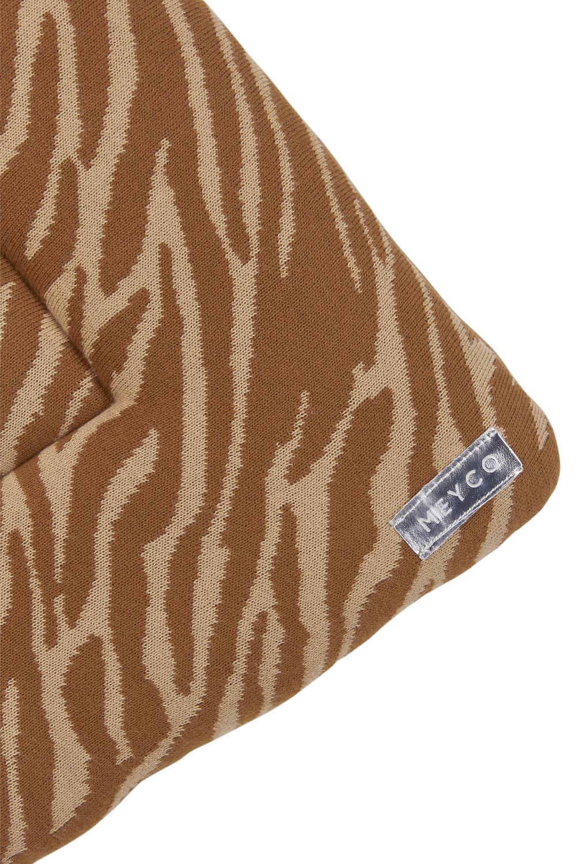Boxkleed Zebra - Camel - 77x97cm