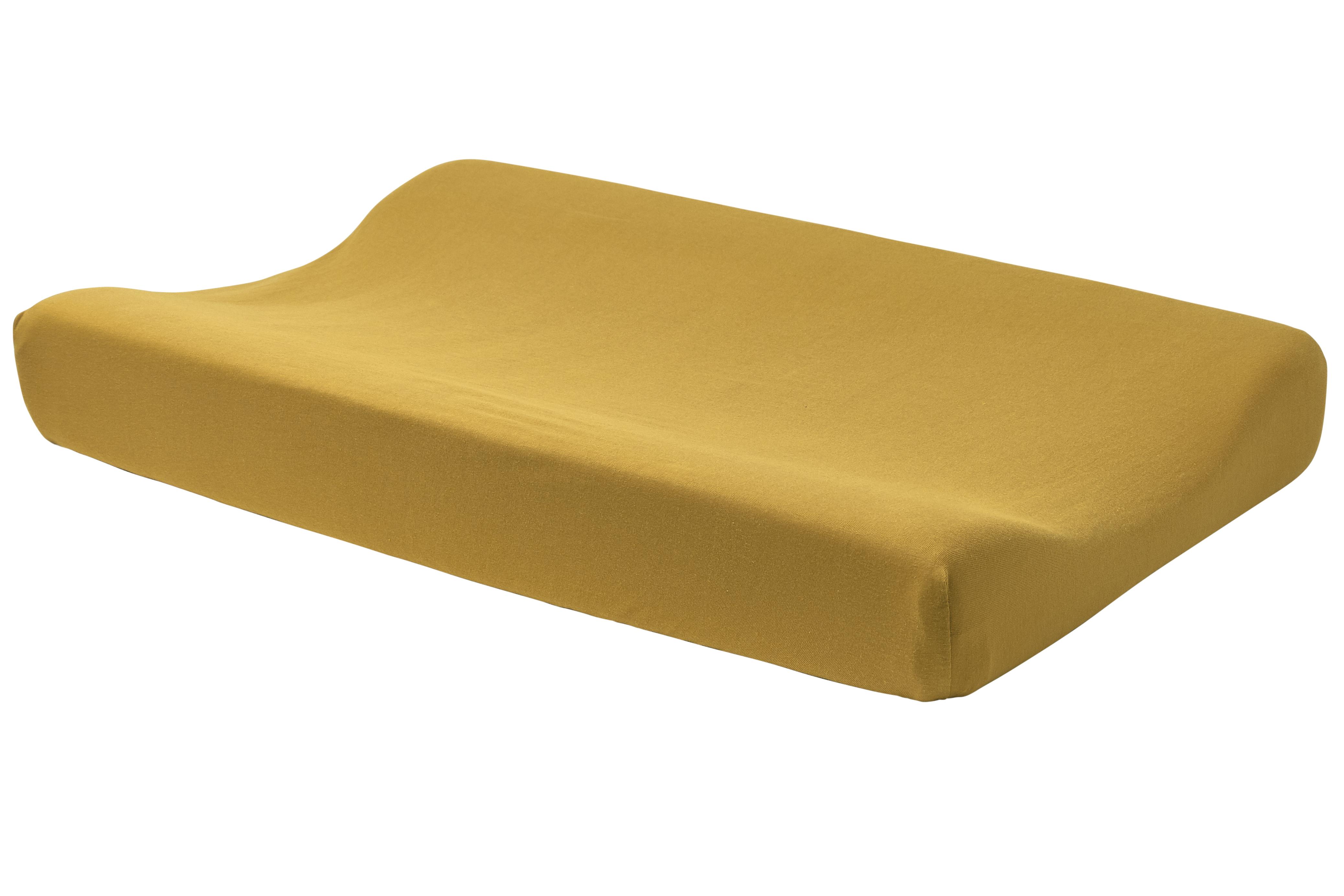 Wickelauflagenbezug Basic Jersey - Honey Gold - 50x70cm