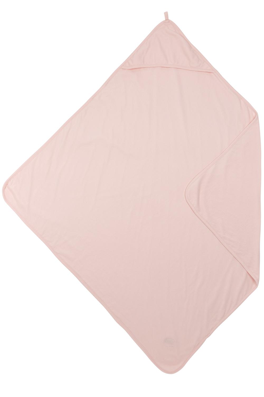 Badcape Basic Jersey - Lichtroze - 80x80cm