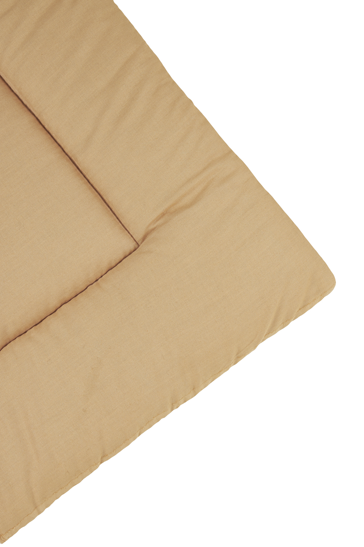Boxkleed Uni - Camel/Warm Sand - 80x100cm