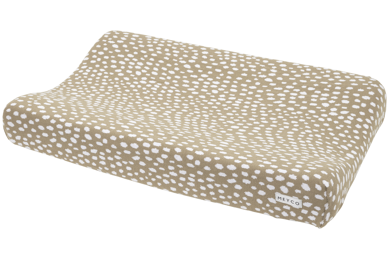 Wickelauflagenbezug Cheetah - Taupe - 50x70cm