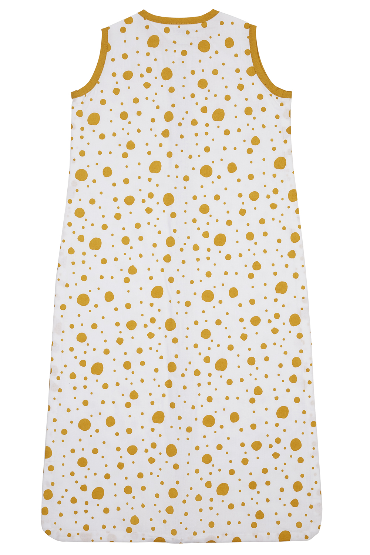 Zomerslaapzak Dots - Okergeel - 70cm