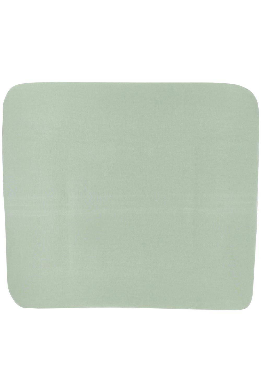 Aankleedkussenhoes 3K Basic Jersey - Stone Green - 85x75cm