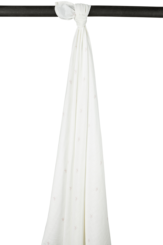Meyco X Mrs. Keizer Bamboe Swaddle Ibiza - Lilac - 120x120 cm