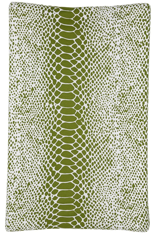 Aankleedkussenhoes Snake - Avocado - 50x70cm