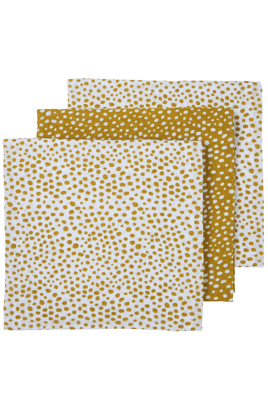 Hydrofiele Luiers 3-Pack Cheetah - Honey Gold - 70x70cm
