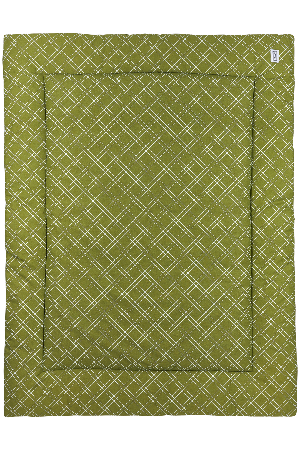Laufgittereinlage Double Diamond - Avocado - 80x100cm