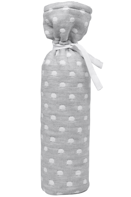 Wärmflaschenbezug Little Dots - Grau - 13xh35cm
