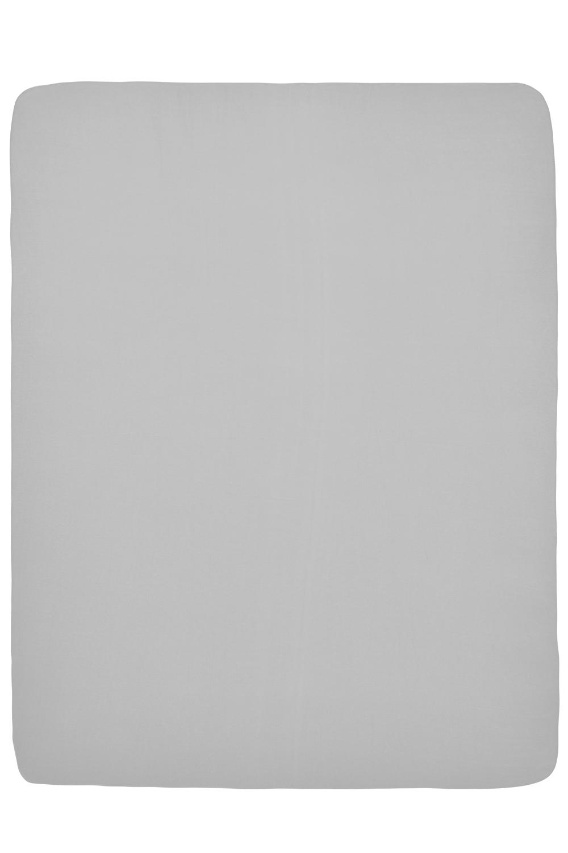 Jersey Hoeslaken Boxmatras - Lichtgrijs - 75x95cm