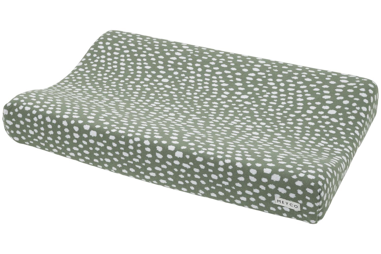 Aankleedkussenhoes Cheetah - Forest Green - 50x70cm