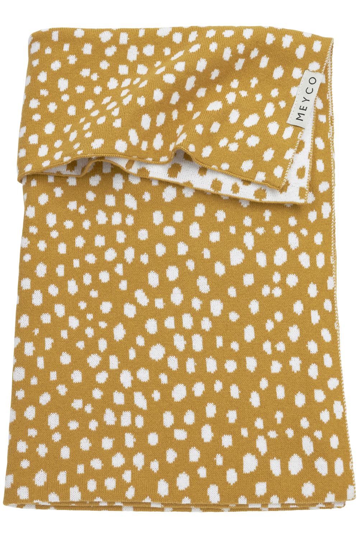 Wiegdeken Cheetah - Honey Gold - 75x100cm