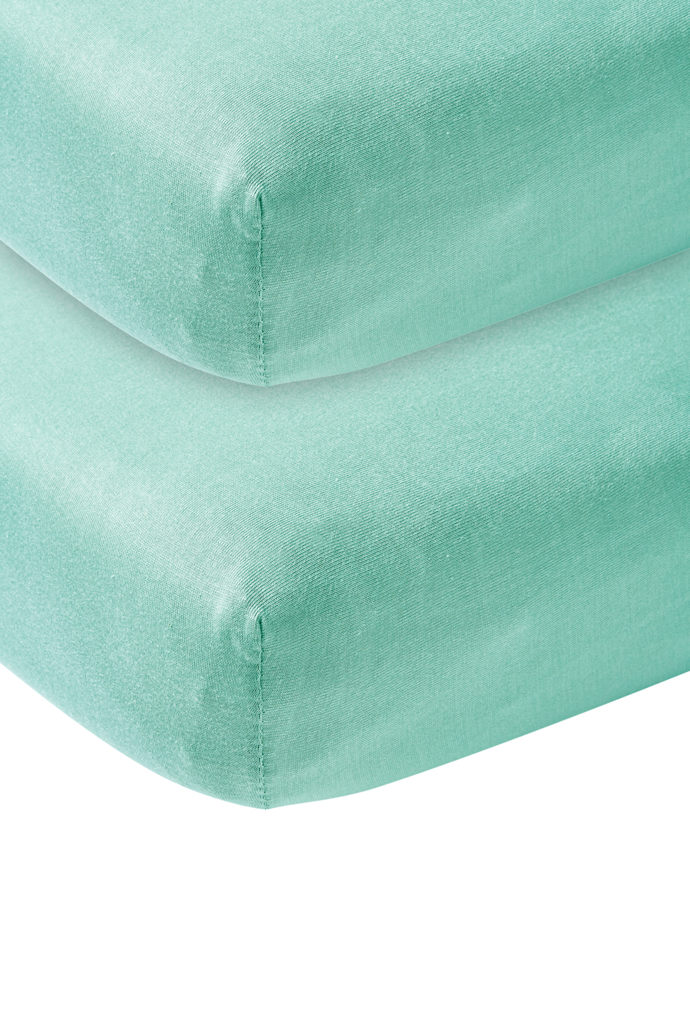 Jersey Hoeslaken 2-Pack - New Mint - 70x140/150cm