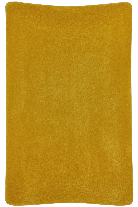 Aankleedkussenhoes Velvet - Honey Gold - 50x70cm