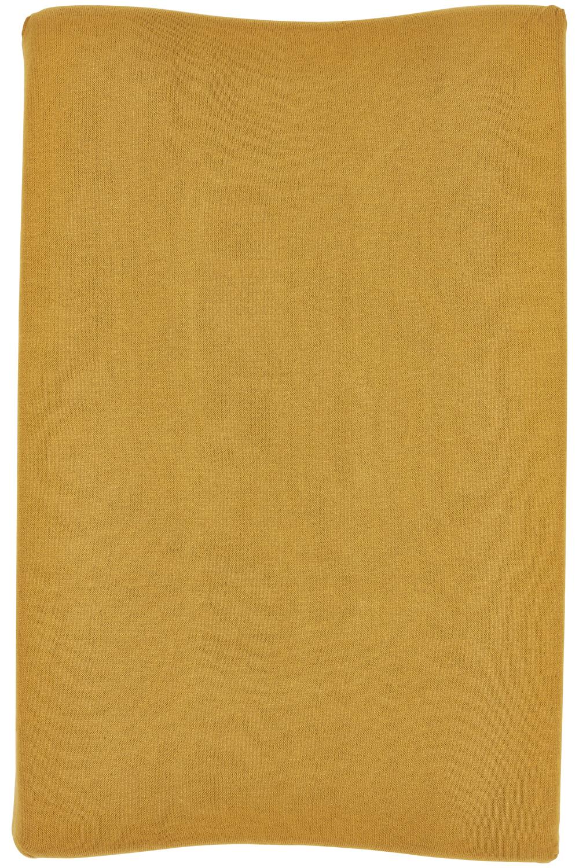 Aankleedkussenhoes Knit Basic - Honey Gold - 50x70cm