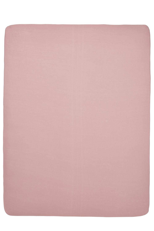 Jersey Hoeslaken Boxmatras - Oudroze - 75x95cm