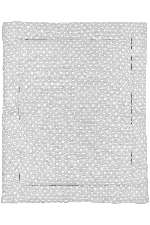 Laufgittereinlage Little Dots - Grau - 80x100cm