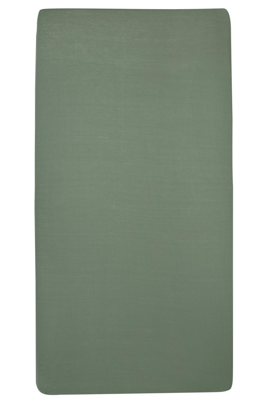 Jersey Hoeslaken - Forest green - 50x90cm