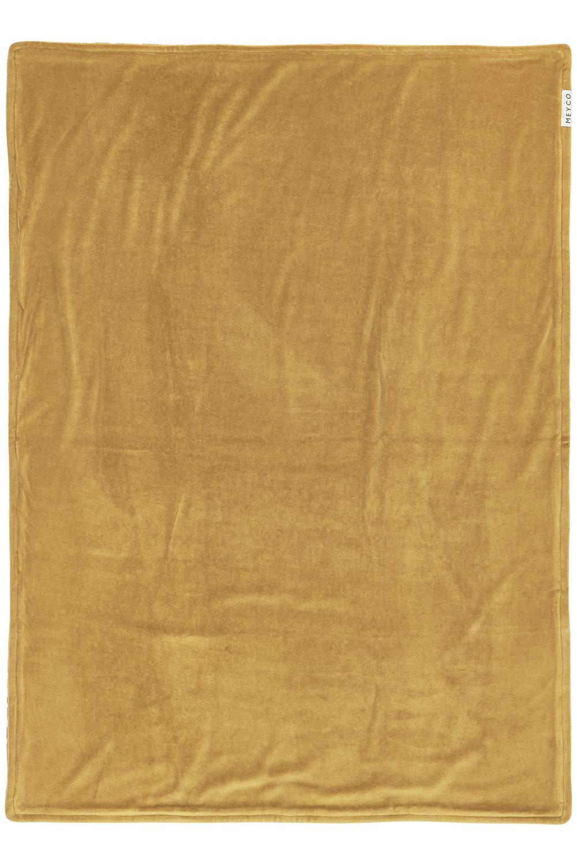 Ledikantdeken Velvet Cheetah - Honey Gold - 100x150cm