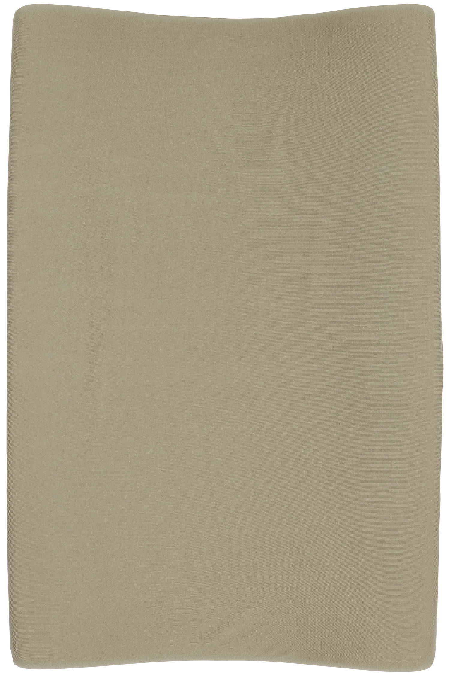 Aankleedkussenhoes Basic Jersey 2-pack - Taupe - 50x70cm