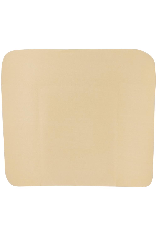 Aankleedkussenhoes 3K Basic Jersey - Warm Sand - 85x75cm