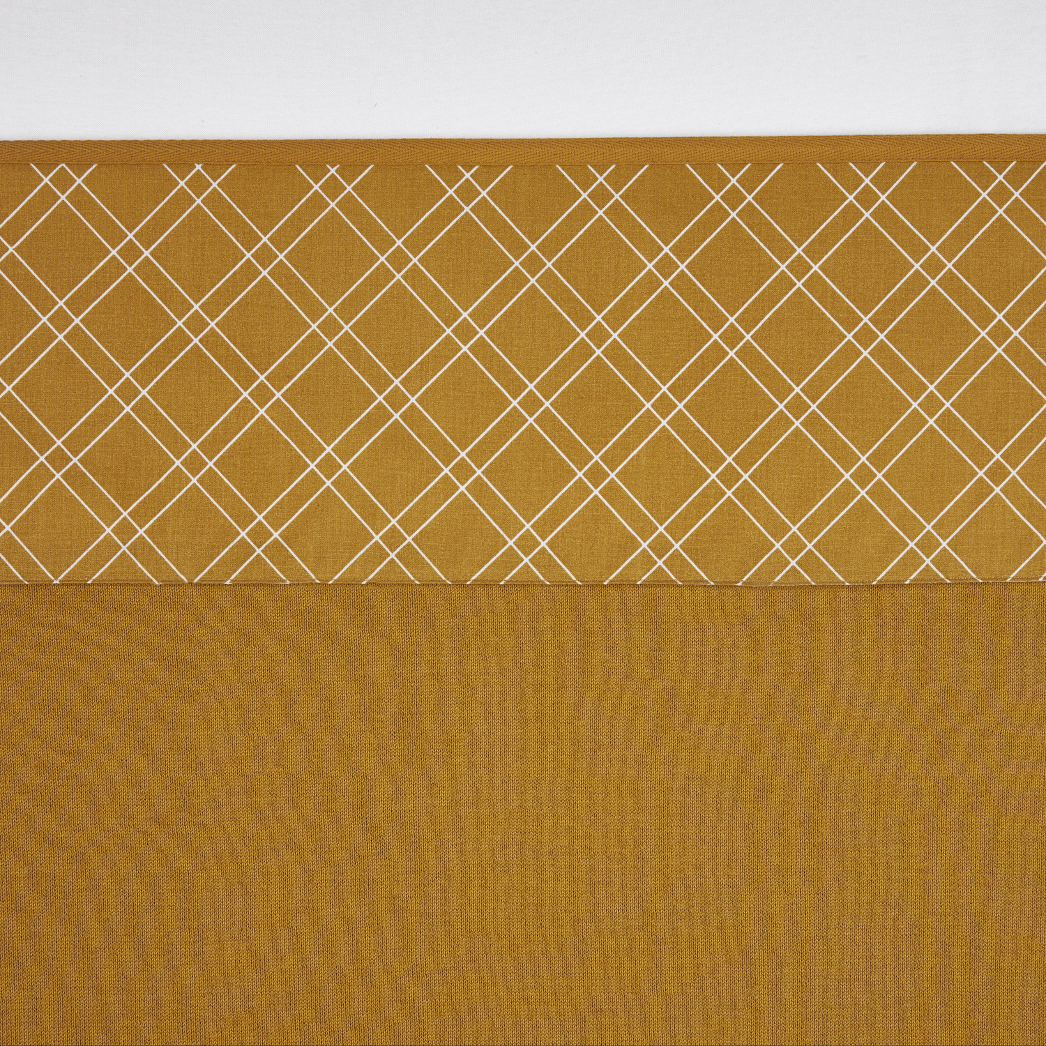 Ledikantlaken Double Diamond - Honey Gold - 100x150cm