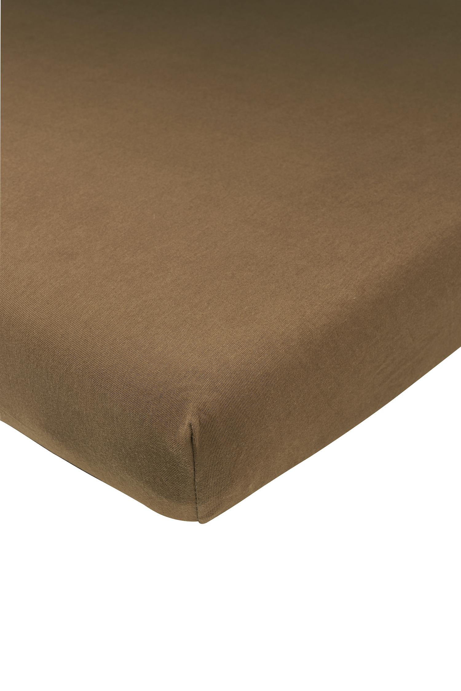 Jersey Spannbettlaken - Chocolate - 40x80/90cm