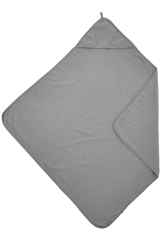 Badcape Basic Jersey - Grijs - 80x80cm