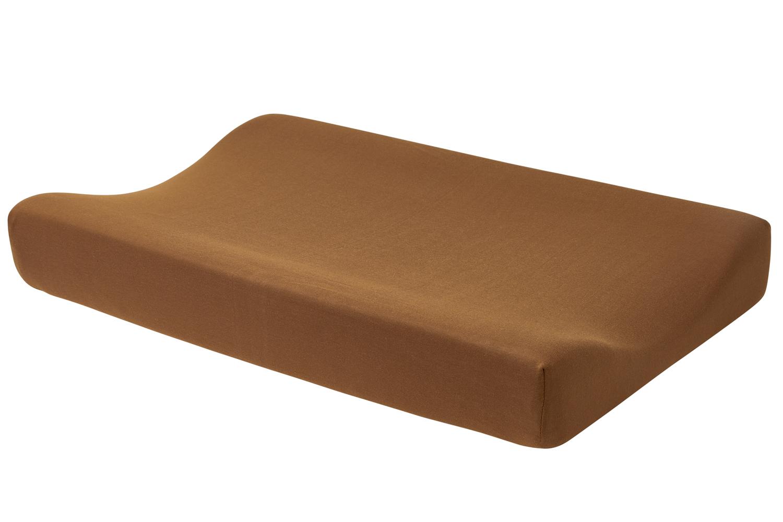 Aankleedkussenhoes Basic Jersey - Camel - 50x70cm
